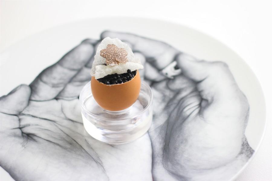Oeuf Bouille et Caviar